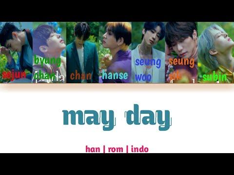 [SUB INDO] Victon - 'MAYDAY'   /han/rom/indo  color coded lyrics