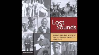 Lost Sounds: Blacks and the Birth of the Recording Industry 1891-1922 CD1
