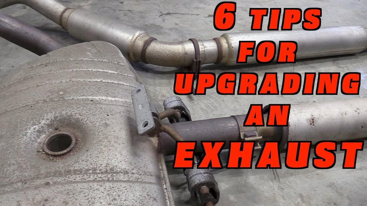 6 Tips to Upgrade an Exhaust System