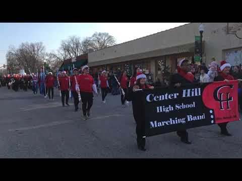 Center Hill High School Marching Band on parade