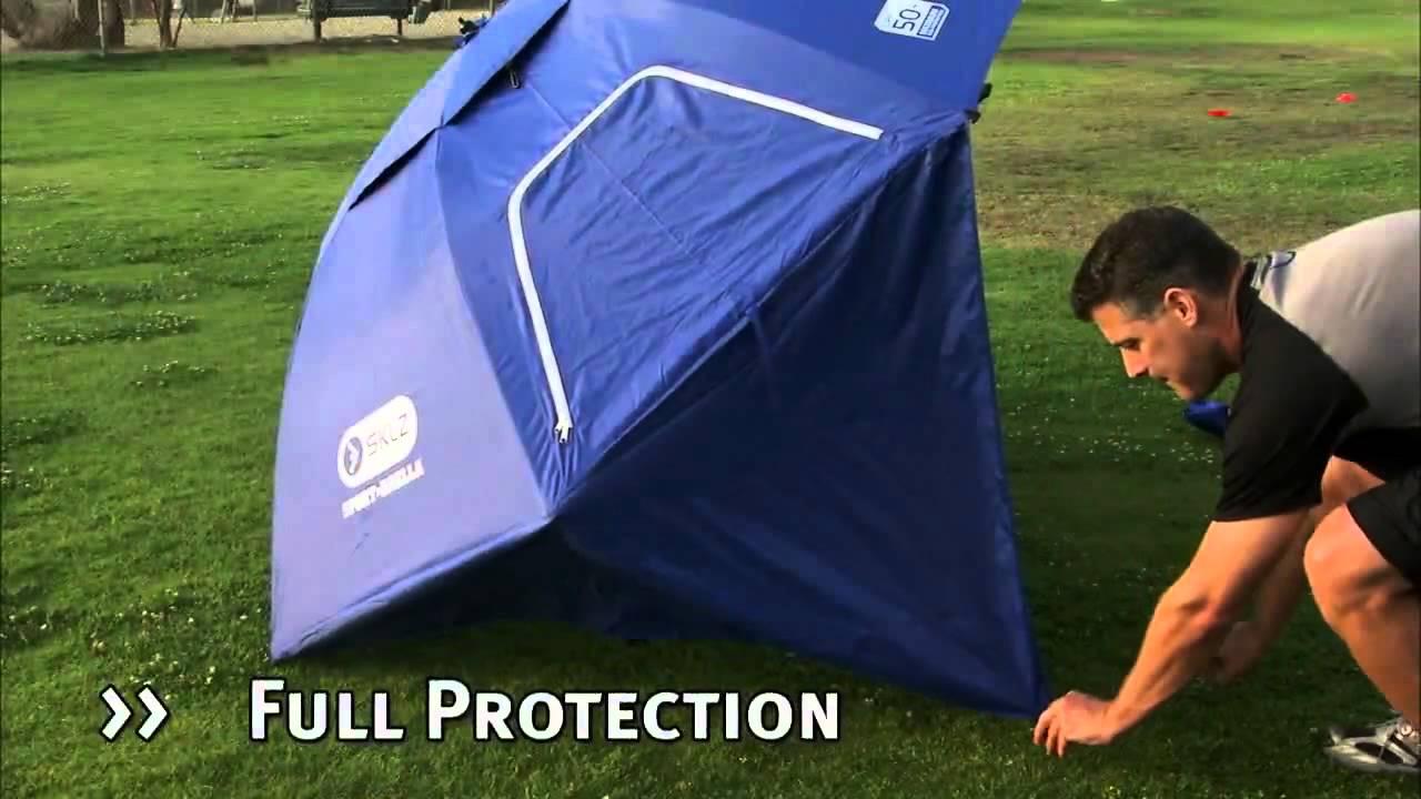 c8a62e45e349 Sport-Brella Sun and Weather Shelter - YouTube