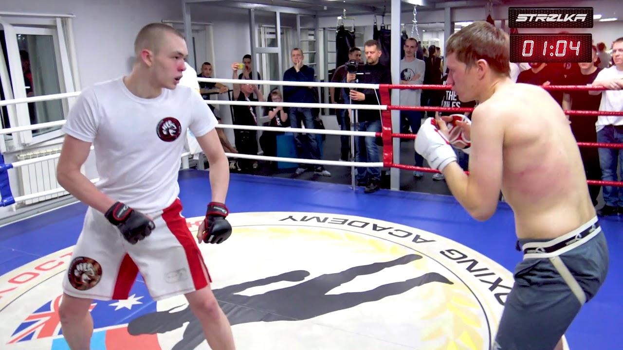 Реальный Боец против Боксера !!! Крутой бой !!!!