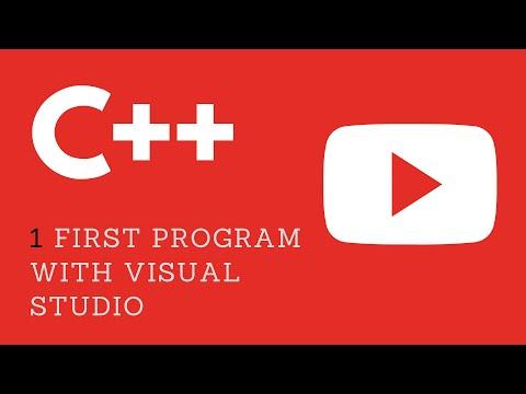 🔥1. First C++