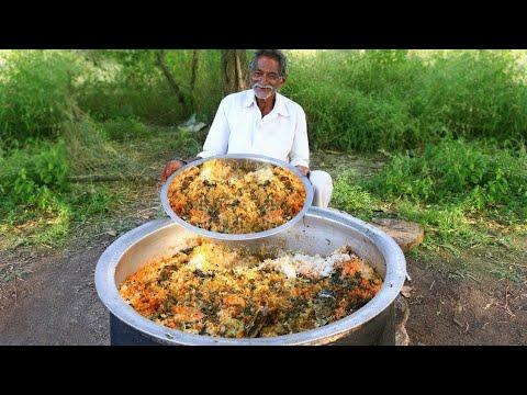 Vegetable Biryani Recipe | Veg Biryani Cooking by our grandpa for  Orphan Children