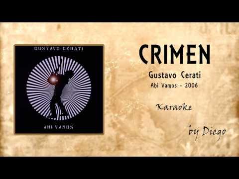 Crimen ( Karaoke ) - Gustavo Cerati Full Band By Diego