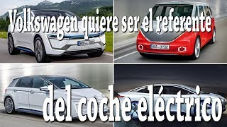Volkswagen quiere ser el referente del coche eléctrico