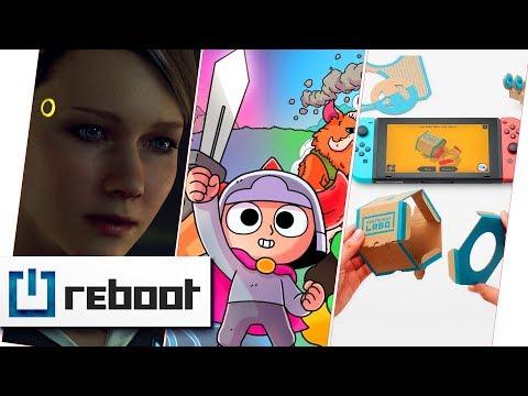Detroit: Become Human, Nintendo Labo & Sword of Ditto | reboot #7