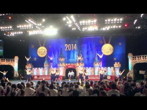 Graves County High School Coed Cheerleading Team @ 2014 UCA High School Nationals Highlights