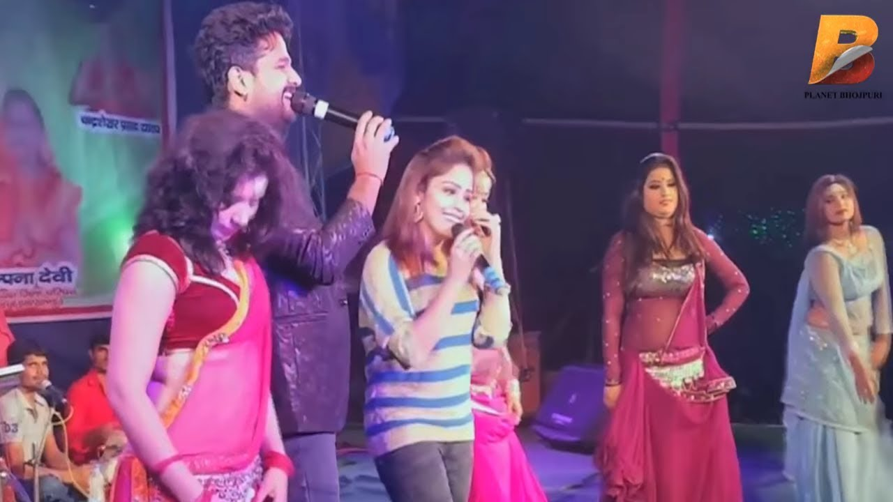 Download Ritesh Pandey और Amrita Dixit का जबरदस्त मुकाबला - चूसता देवरा चूसता - Piywa Se Pahile - Live 2018
