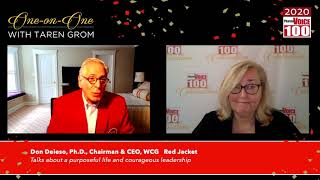 Donald Deieso, WCG – 2020 PharmaVOICE 100 Celebration