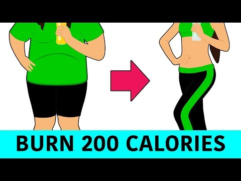 Burn 200 Calories in 20 Minutes Home Workout