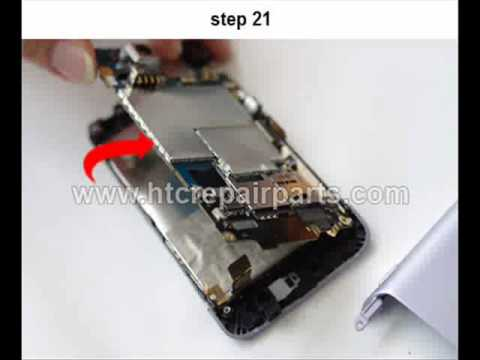 Self Disassembly Repair Manuel for HTC Salsa C510e