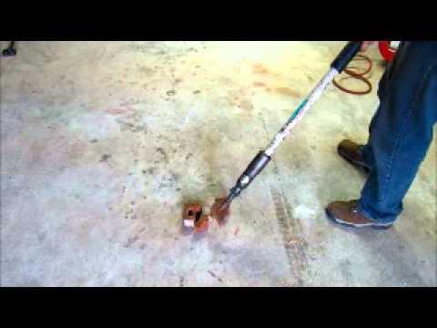 For Sale EDCO ALR Pneumatic Air Chisel Scaler Tile Wood Floor - Air tile scraper