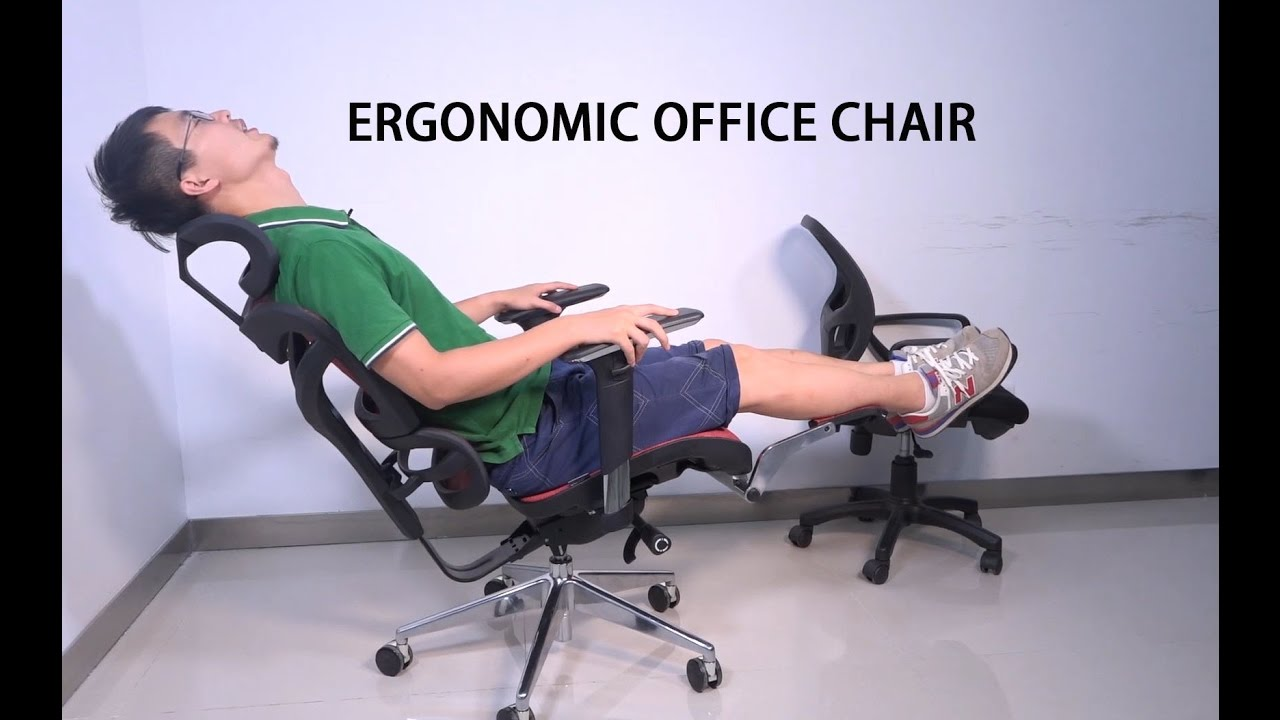 iKayaa Multifunction Adjustable Mesh Ergonomic Office