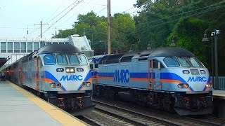 Amtrak & MARC Commuter Rail: Rail Observations at BWI Airport Station