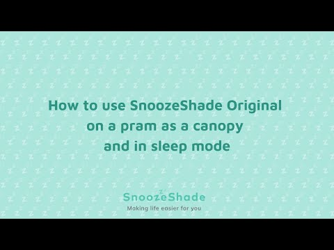SnoozeShade Original On A Carrycot - Help Your Baby Sleep & Protect From The Sun
