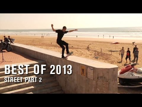 Best Of 2013: Street Part 2 - TransWorld SKATEboarding