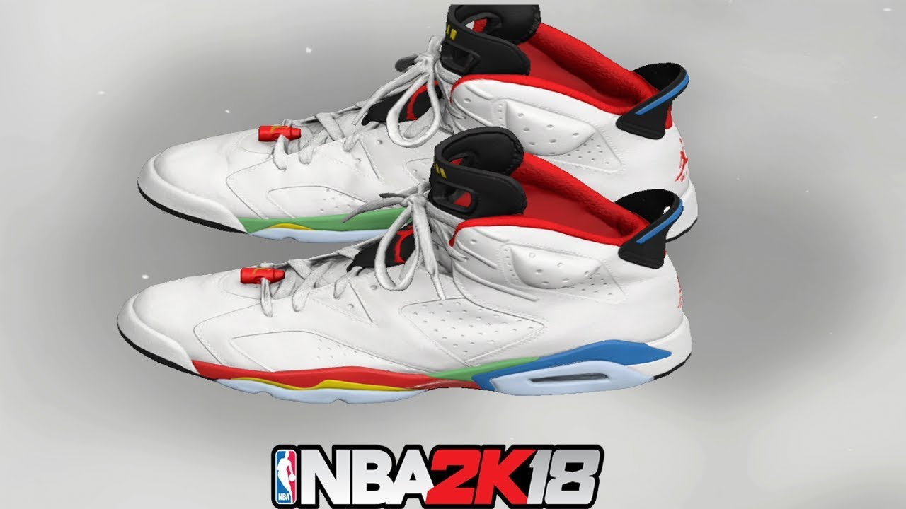 NBA 2K18 Shoe Creator ⋆#NBA2K18⋆ Jordan 6 Beijing