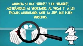 Pasos del Cierre De La Votación - Guatemala 2015