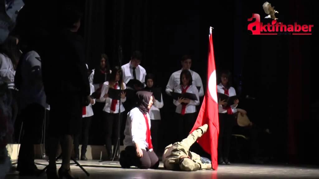 Gölbaşı'nda İstiklal Marşı'nın Kabulünün 94. Yıl Dönümü Kutlandı