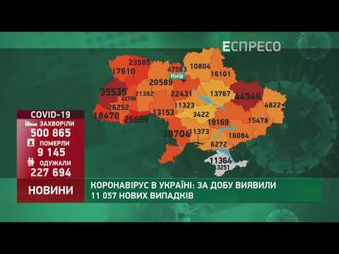 Коронавирус в Украине: статистика по 12 ноября