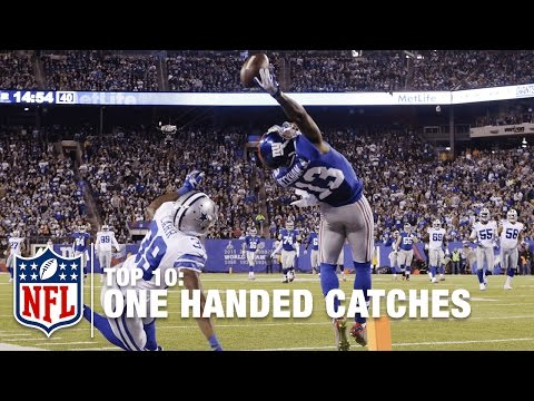 Top 10 One-Handed Catches of All Time | NFL