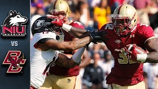 Boston College vs. Northern Illinois | 2015 ACC Football Highlights