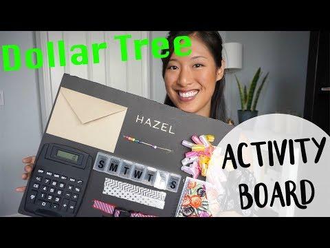 DIY | Dollar Tree Activity Board