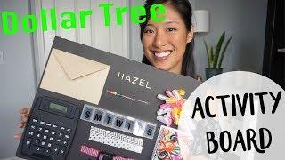 DIY   Dollar Tree Activity Board