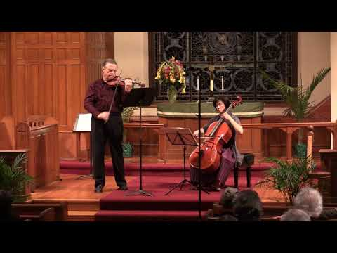 Kodaly Duo for violin and cello, op. 7