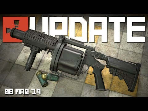 Grenade launcher, Oil rigs are in, new water | Rust update 8th March 2019 thumbnail