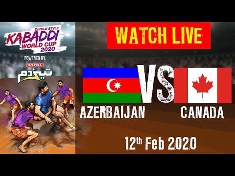 Kabaddi World Cup 2020 Live - Azerbaijan Vs Canada - 12 Feb - Match 9 | BSports