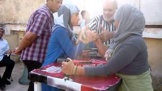 مرنا أحمد بطلة مصر فى مصارعة الذراعين 2014 تحت 14 سنة ذراع يمنى