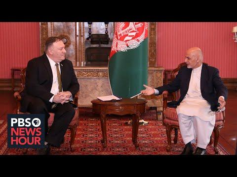 News Wrap: Afghan leaders trade blame for possible cut in U.S. aid