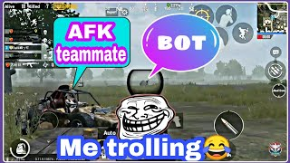 #funny PUBG Mobile UPDATE 0.11.5 beta | BOTS in my team!!! Update review🤣