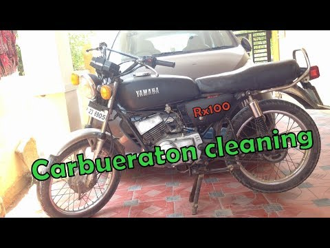 Rx100 | Carbuerator Cleaning