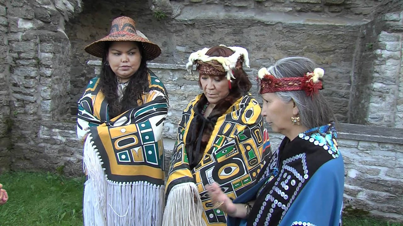 Copper Maker Dancers - Kwakiutl Indians´ culture - YouTube
