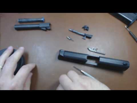 Walther PPQ Complete Disassembly and Reassembly