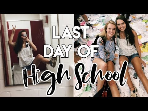 LAST DAY OF HIGH SCHOOL VLOG // senior year day in my life