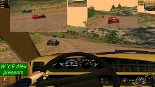 NFS Porsche/ PU - Class 3 Trophy - Auvergne (With car tunning) - 944 S2 Carbiolet [Part 1 of 2]  #1