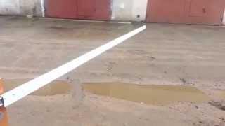 Шлагбаум из стеклоподёмника Форд Транзит(Шлагбаум из электростеклоподёмника Форд Транзит., 2015-04-04T17:31:15.000Z)