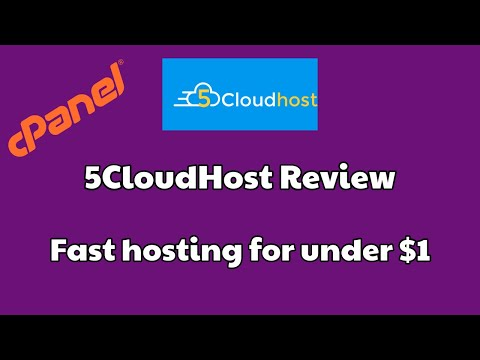 5CloudHost Review | Fixed Price Hosting | Cheap WordPress Hosting [FAST HOSTING] thumbnail