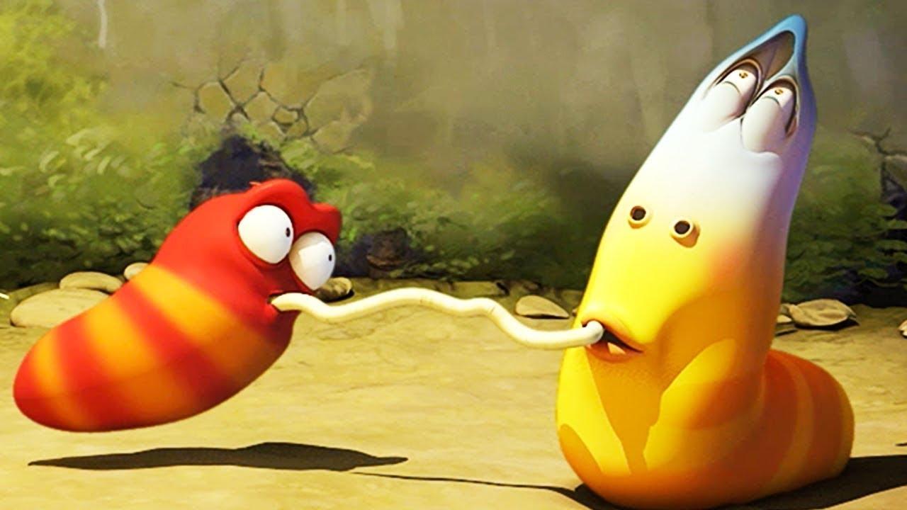 SPAGHETTI TROUBLE - Larva | Crazy Cartoons | WildBrain Cartoons