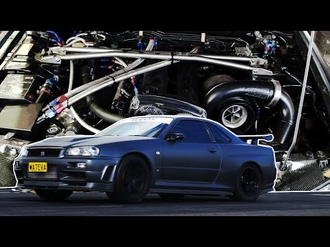 Dom's Monster 1000hp R34 Skyline GT-R - Born This Way Modifiers Ep. 3