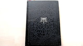 The Witcher 2 Collector's Edition Artbook - All pages, full review [4K]