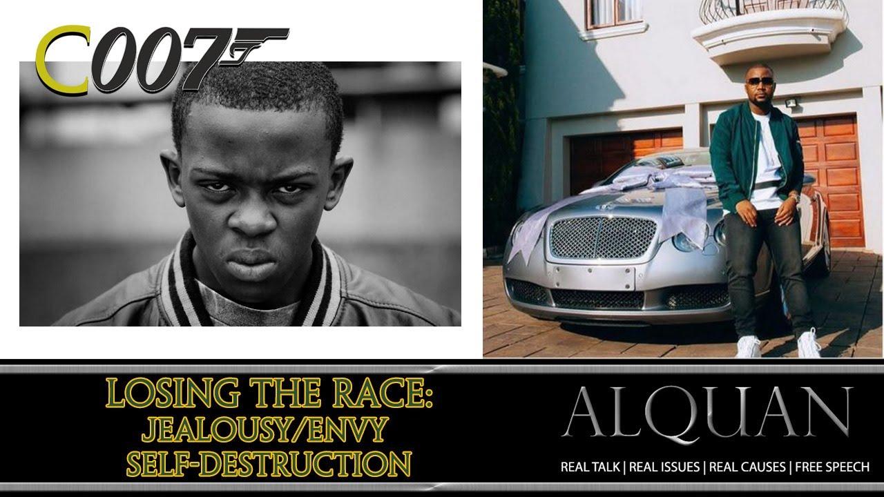 Losing the Race: The Jealousy/Envy Self-Destruction