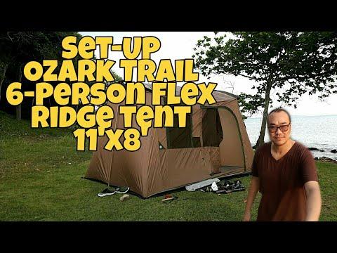Ozark Trail 6-Person Flex Ridge Tent [ Jirayu Channel