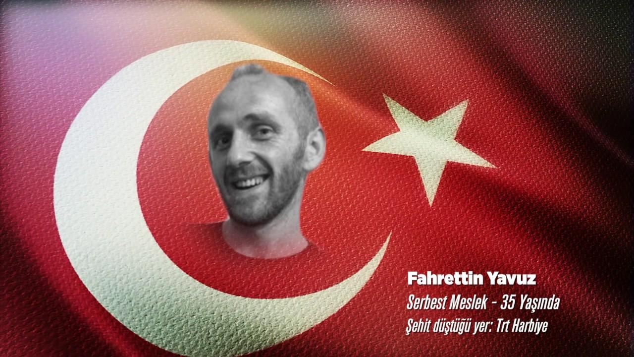 15 Temmuz Şehidi Fahrettin Yavuz