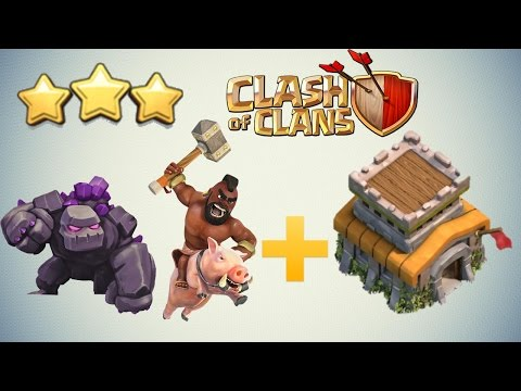 Clash of Clans - BEST TH8 3 Star Attack Strategy Guide