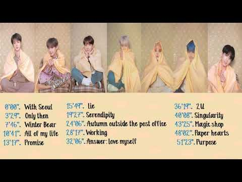 (REUPLOAD) BTS Ballad/Acoustic Songs/Covers Compilation - My Favorite Playlist (P2)